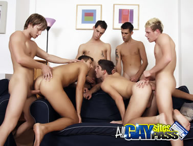Gay Groupsex HCVC320 4